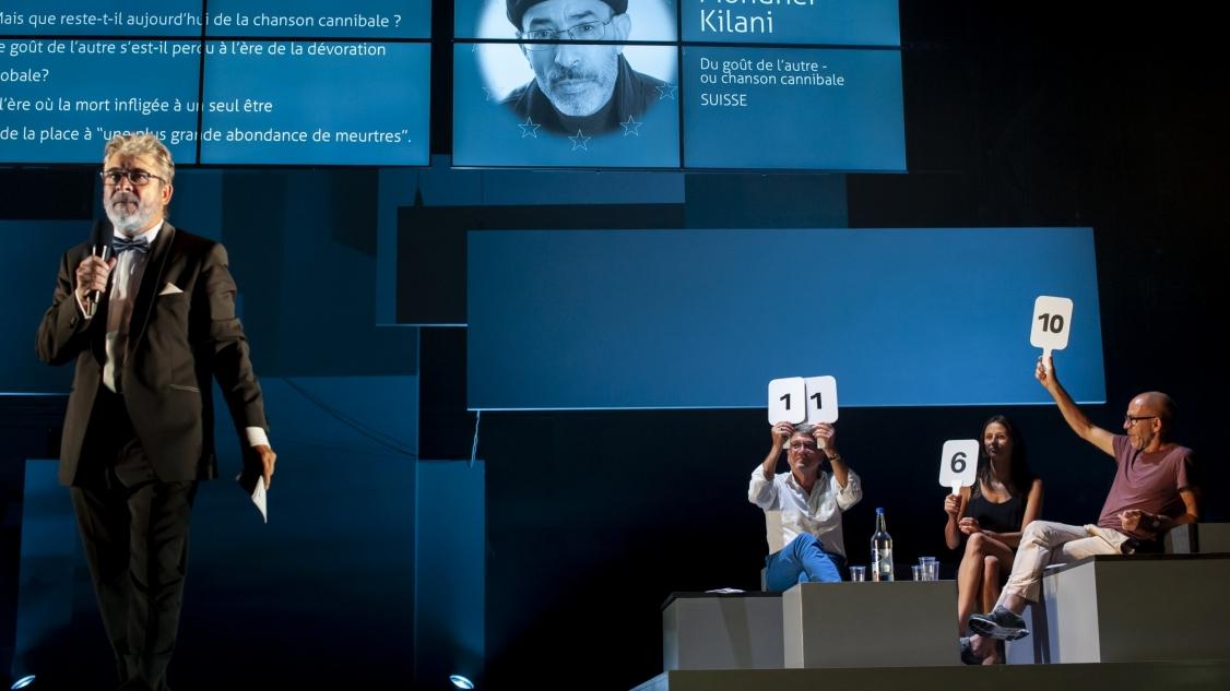 Concours européen chanson philosophique - Massimo Furlan © Laure Ceillier et Pierre Nydegger